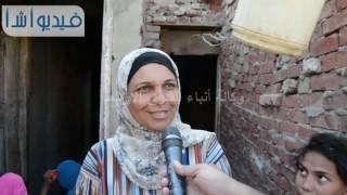 بالفيديو اهالي منطقة ابو رجيلة يرفضون الانتقال الي المساكن الجديدة