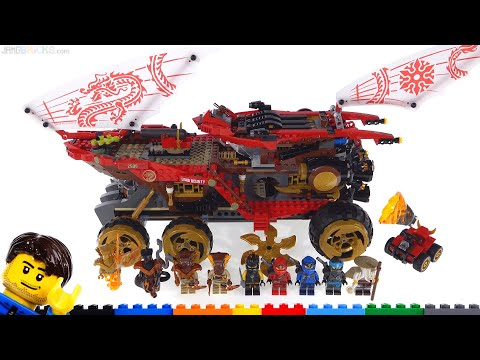 LEGO Ninjago Land Bounty review set 70677