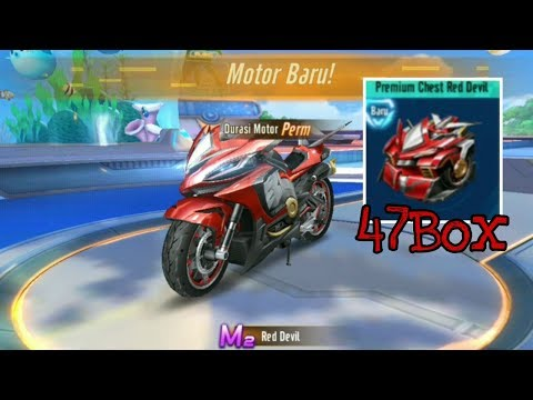 GACHA MOTOR M2 RED DEVIL 1610 DIAMOND - Garena Speed Drifters
