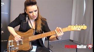 Holy Grail Guitar Show '18 - Vuorensaku Guitars T Family Demos