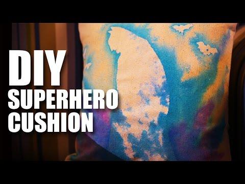How to make DIY Superhero Cushions