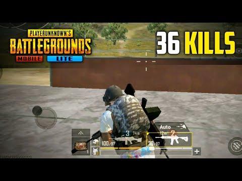 PUBG Mobile Lite 36 Kills Squad Gameplay | New World Record