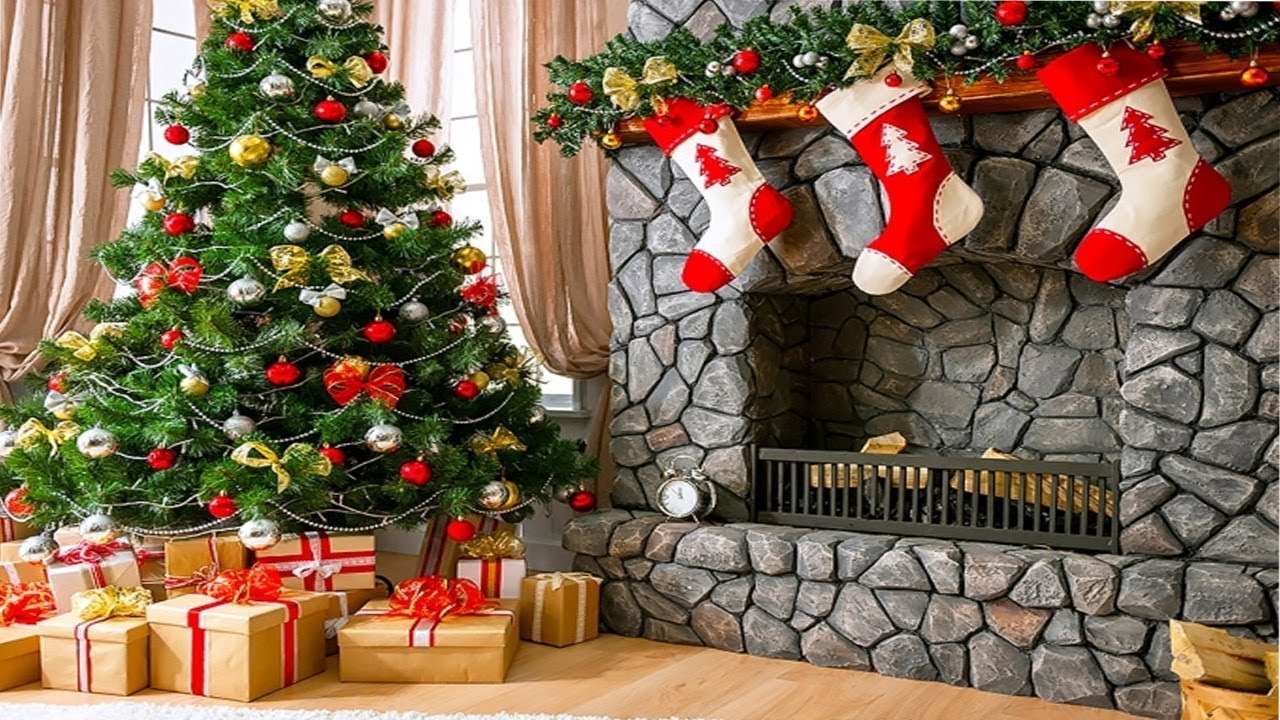 2017 christmas mantel decorations garland 3 - Christmas Mantel Decorations Garland