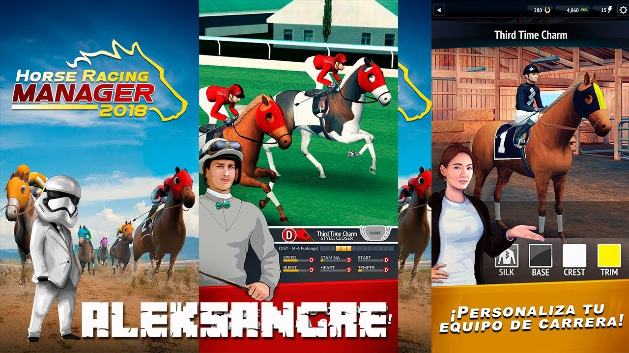 HORSE RACING MANAGER 2018 #1- Mi primer caballo ganador - GAMEPLAY ESPAÑOL HD