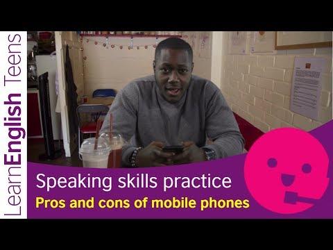 Speaking Skills Practice: Pros And Cons Of Mobile Phones (Upper Intermediate B2)