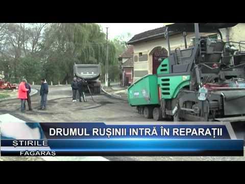 Drumul Rusinii intra in reparatii