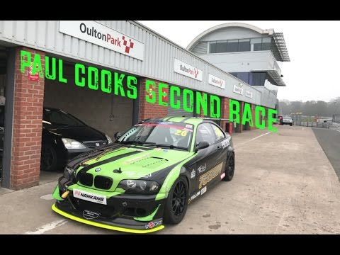 PAUL COOK'S SECOND RACE AT OULTON PARK BMW CHAMPIONSHIP