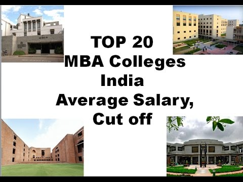 CAT Cut off || Salary || Top 20 MBA Institutes in India|| MBA in IIM