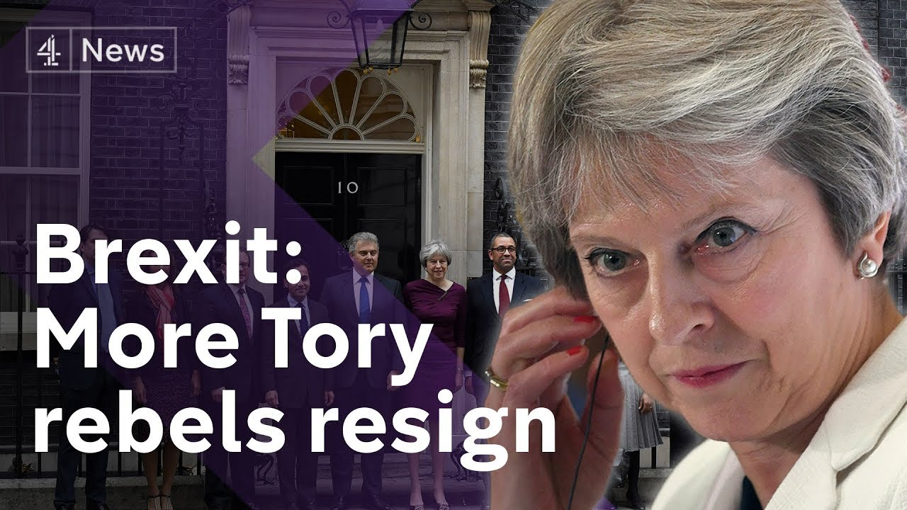 May hit by more Conservative rebel resignations