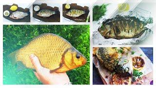 კარჩხანა ლიმონით • вкусно жареный карась с лимоном  • თევზაობის დრო / Fishing Time