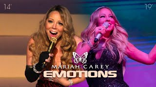 Mariah Carey - Emotions (LAST 2014 vs FIRST 2019 Christmas Shows) SHOWDOWN Video
