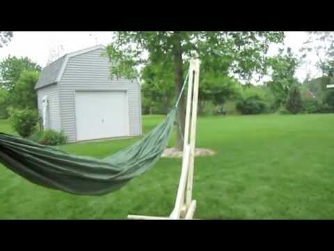 How To Build Hammock Stand Plans Pvc Pdf Plans
