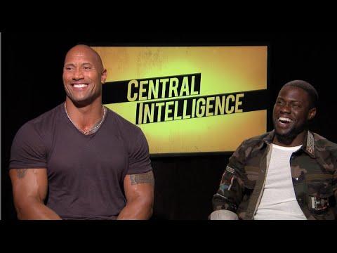 Central Intelligence Interview Dwayne The Rock Johnson Kevin Hart