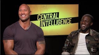 Central Intelligence Interview Dwayne THE ROCK Johnson, Kevin Hart.mp3
