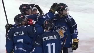 Maalikooste Suomi - Tshekki // U20 Viiden maan turnaus // 6.2.2019 Turku