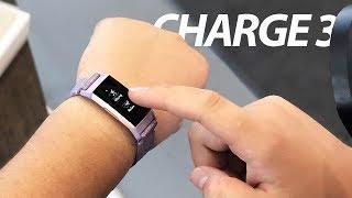 Огляд Fitbit Charge 3: Кращий трекер від Fitbit