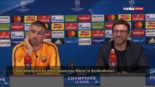"""Eusebio Di Francesco: """"Onların Salah'ı varsa bizim de Cengiz Ünder'imiz var"""""""
