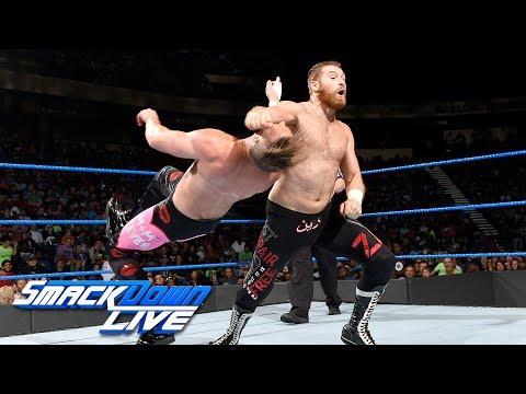 Sami Zayn vs. Mike Kanellis: SmackDown LIVE, July 18, 2017