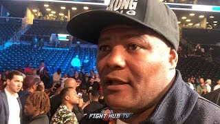LUIS ORTIZ REACTS TO WILDER'S BRUTAL KO OF BREAZEALE; READY FOR REMATCH & CALLS JOSHUA A P*****