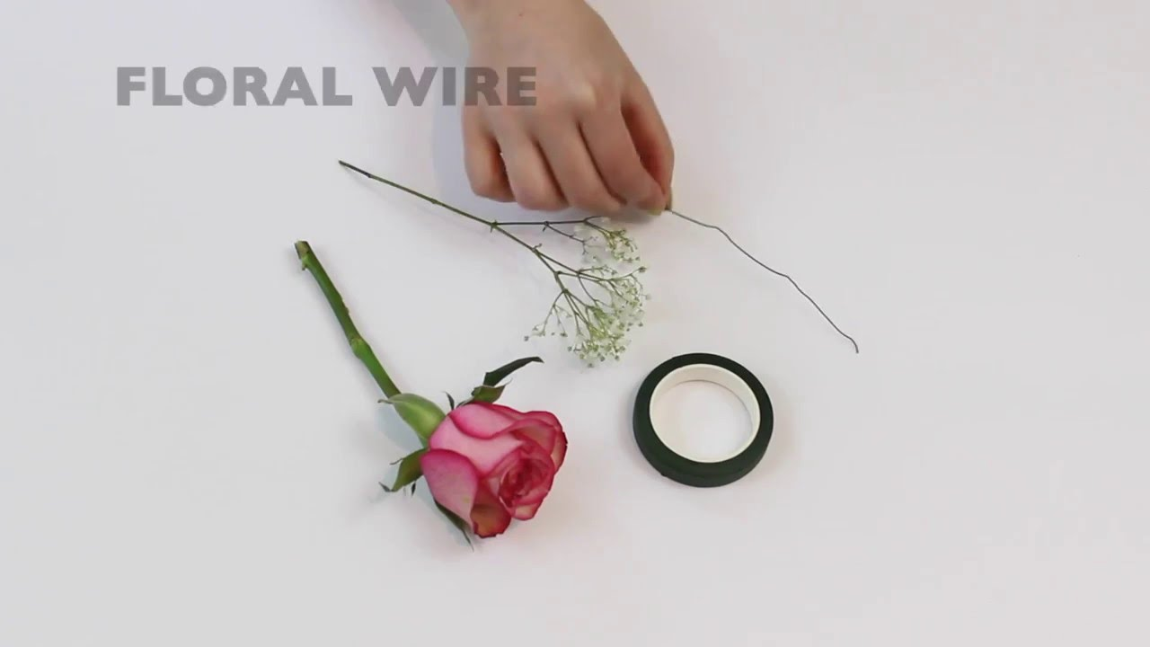 DIY Wine Glass Flower Charms - YouTube