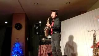 下田東急ホテルでのクリスマスディナーショー初日の演奏 ジミー中山ホー...