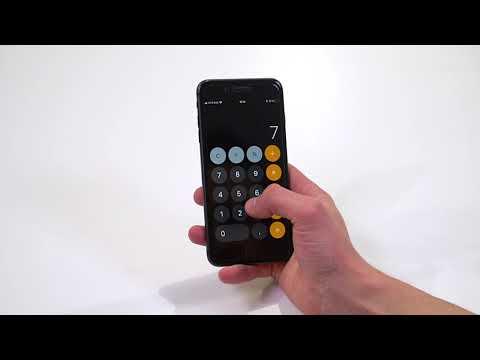 Как посмотреть историю в калькуляторе на айфоне