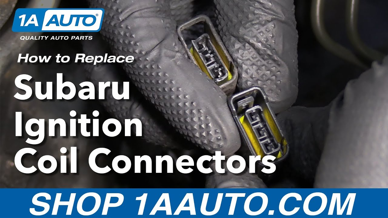 How To Replace Install Subaru Ignition Coil Connectors Youtube Wiring Diagram