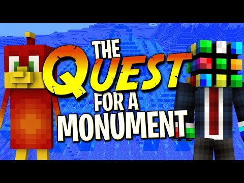 The QUEST to the Monument !! : The Divide Minecraft xbox [16]