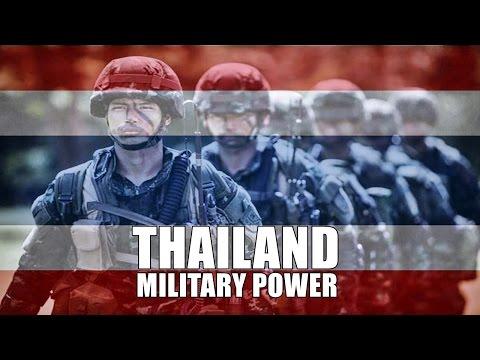 Scary Thailand Military Power - Royal Thai Army 2017
