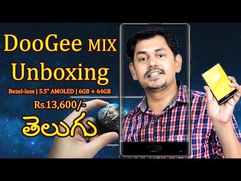 DOOGEE MIX UNBOXING! Review || Bezel-less phone || in Telugu || Tech-Logic
