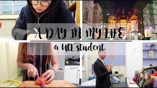 A Day in My Life | UCL student | London Vlog 我的大学日常
