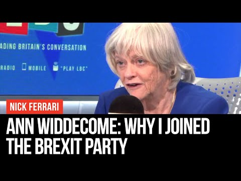 Ann Widdecome: Why I Joined The Brexit Party - Nick Ferrari - LBC