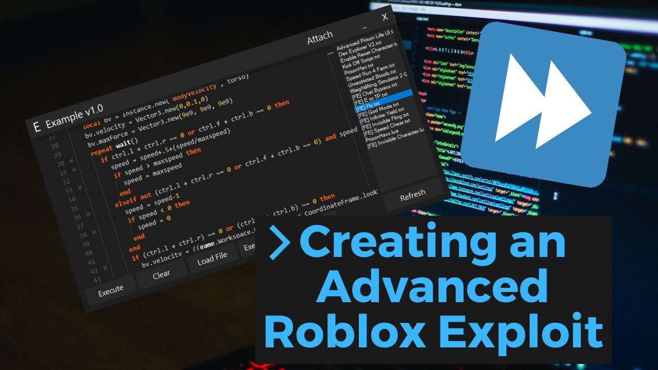 Roblox Exploit Sites Creating An Advanced Roblox Exploit Source Release Youtube