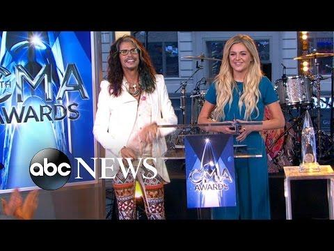 CMA 2015 Award Nominations Announced  on GMA