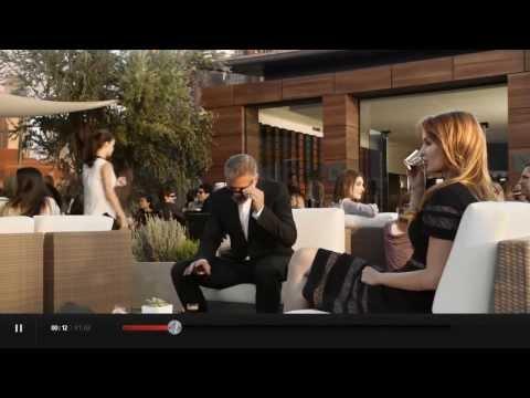 Lauriane Gilliéron George Clooney et Matt Damon dans la nouvelle pub Nespresso