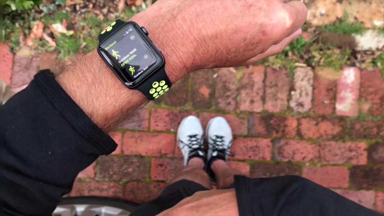 7ec00a59690 Apple Watch Series 3 vs Garmin Forerunner - YouTube