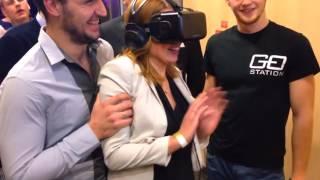 Виртуальная реальность GoStation в Национальной библиотеке