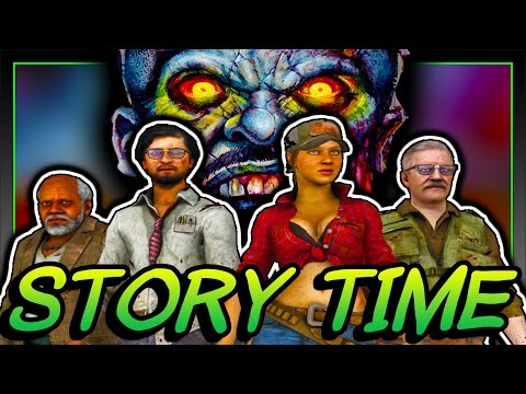 STORY TIME w/Queen - Episode 1 FULL Zombies Comic Narration (High Res Comic Pages) Call Of Duty