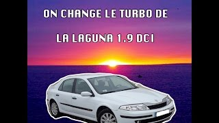 Turbo changer sur Laguna 1,9 DCi
