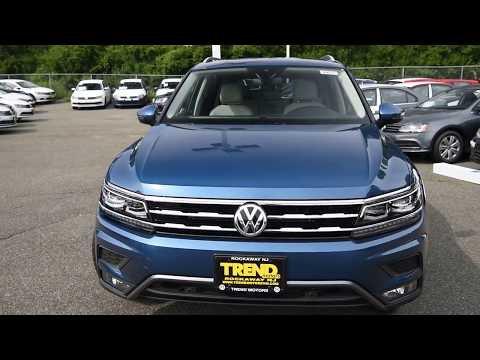 BRAND NEW 2018 Volkswagen Tiguan SEL Premium 4MOTION Walk-Around at Trend Motors VW