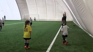 CZ8-Fc Yellow Junior z Kudełkiem w Legnicy pod balonem -Juventus Legnica -VIII meczyk -Decathlon Cup