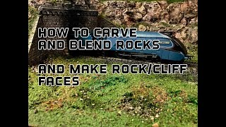 Baixar Building A Model Railway Part 1 : Rock Carving Cliff faces Ad Working With foam Quick