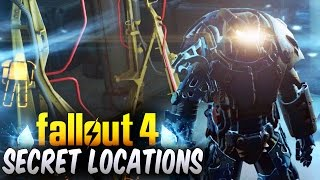 Fallout 4 Secret Locations - Top 5 Secret Locations Hidden Areas Fallout 4 Secrets