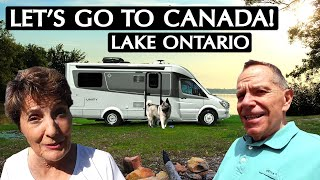 Let's Go Camping! Crossing into Canada and Lake Ontario