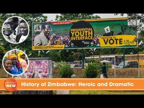 History of Zimbabwe: Heroic and Dramatic, from Robert Mugabe to Emmerson Mnangagwa