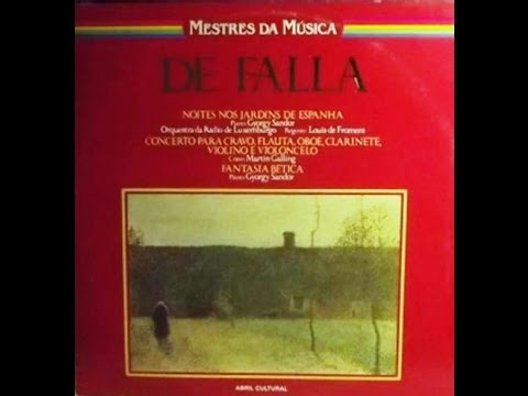 De Falla. Noches en los jardines de España. György Sándor. Louis de Froment.