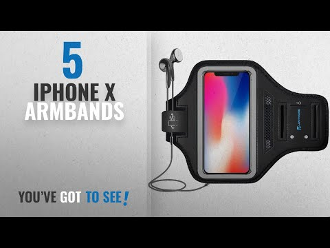 IPhone X Armbands [2018 Best Sellers]: IPhone X Armband - LOVPHONE Sport Running Exercise Gym