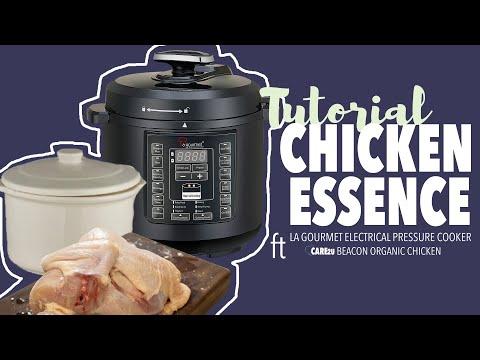 Chicken Essence ft La Gourmet Pressure Cooker