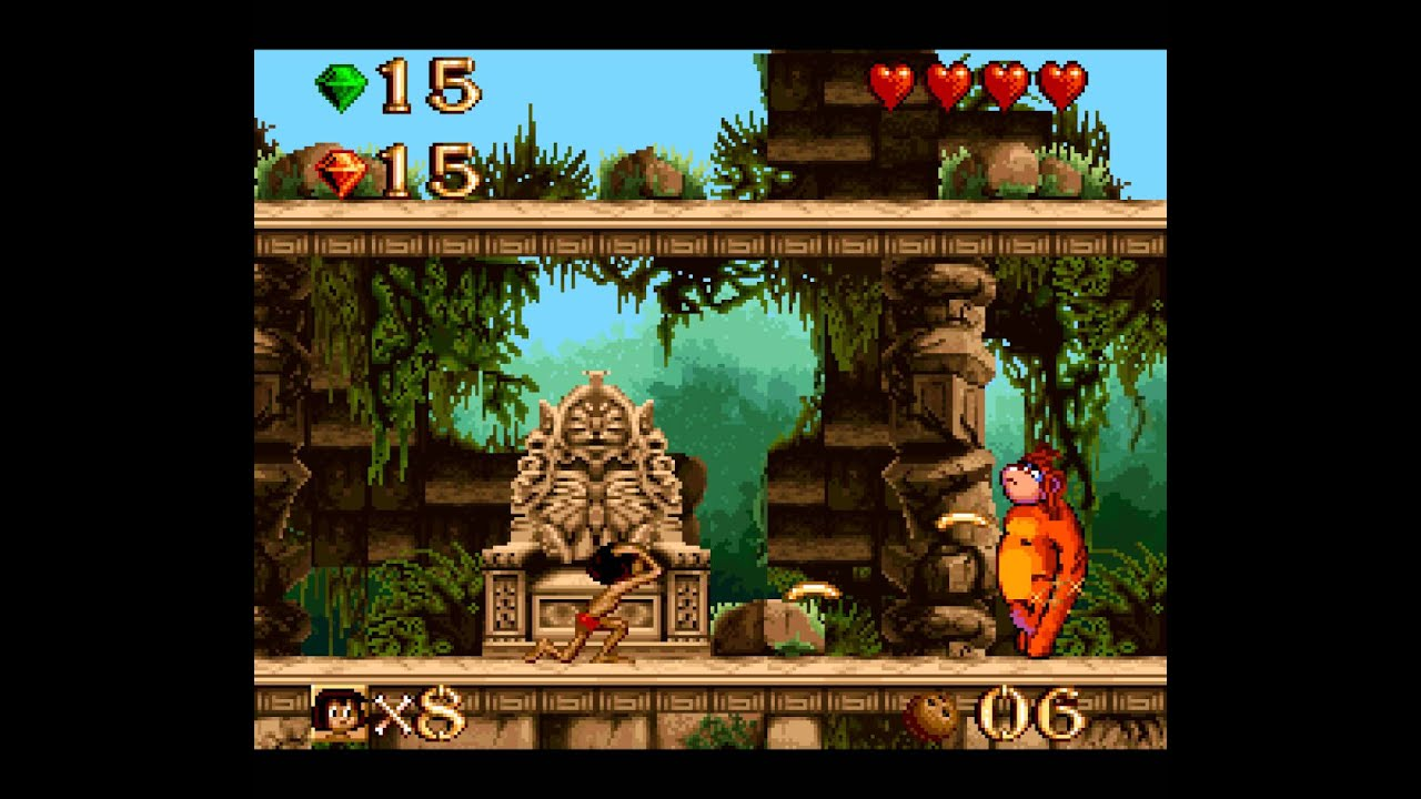 Image result for The Jungle Book SNES