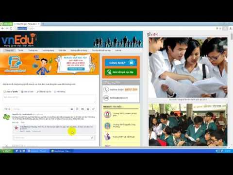 hướng dẫn sử dụng sổ theo dõi chất lượng giáo dục vnedu P1